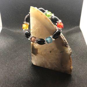 Women bracelets plastic colors
